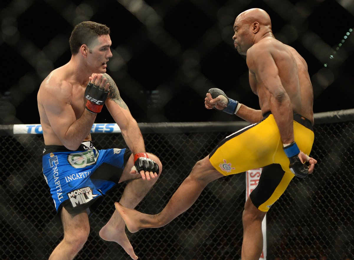 Anderson Silva Leg Broken UFC Wallpaper 11437 Wallpaper 1200x883