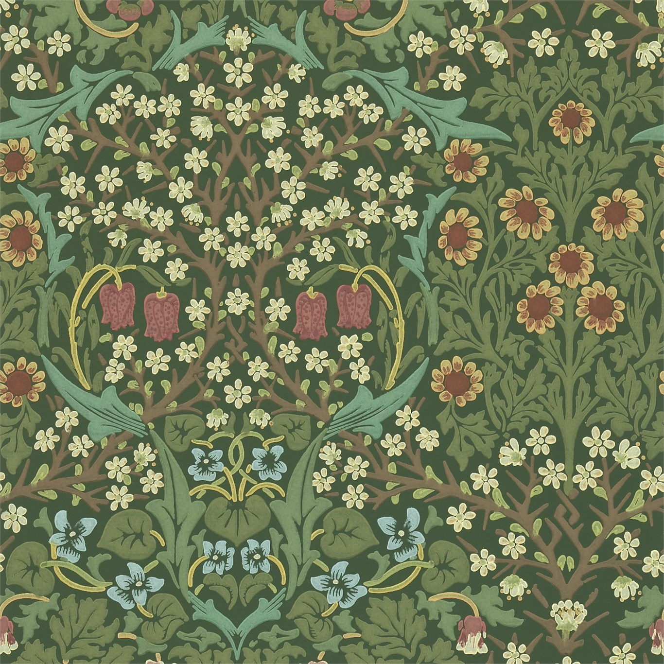 Free Download The Original Morris Co Arts And Crafts Fabrics And Wallpaper 1366x1366 For Your Desktop Mobile Tablet Explore 50 Morris And Co Wallpaper William Morris Reproduction Wallpaper William