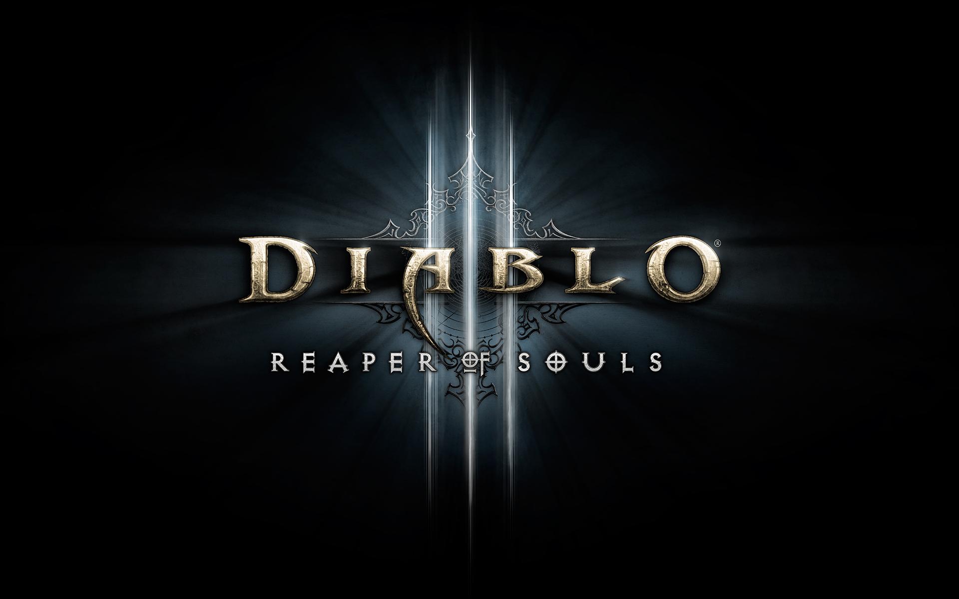 Diablo III Reaper of Souls Logo Wallpaper MMODAQ 1920x1200