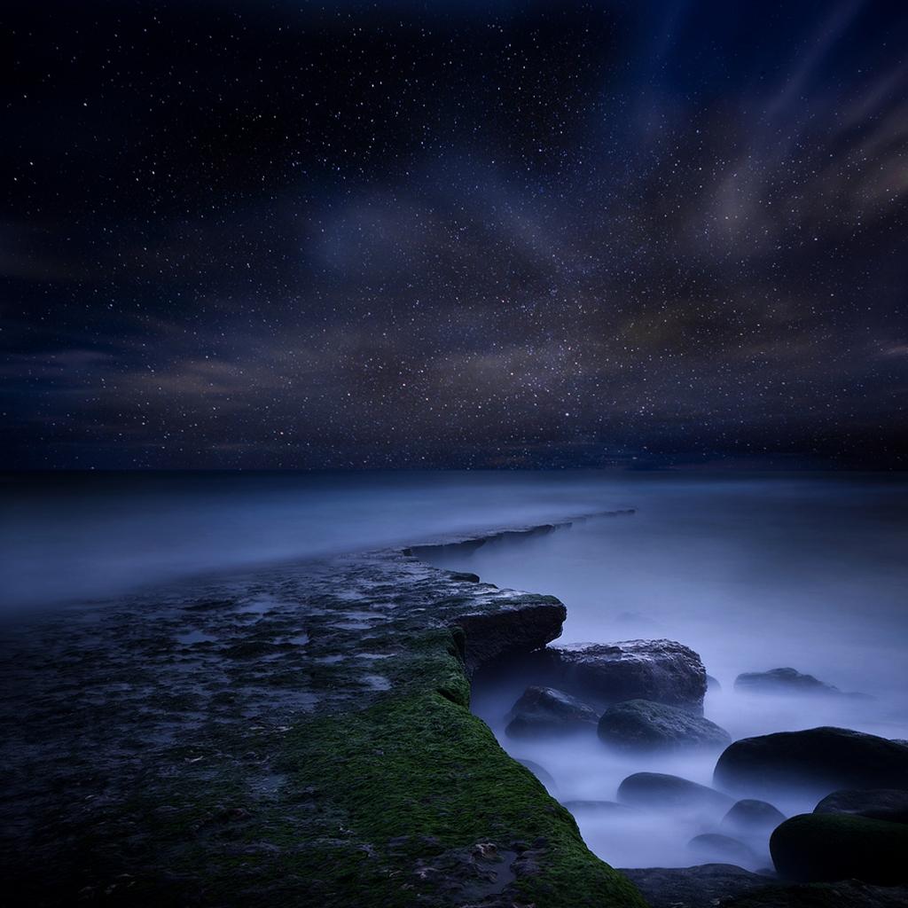 iPad night sky wallpaper 1024x1024jpg 1024x1024