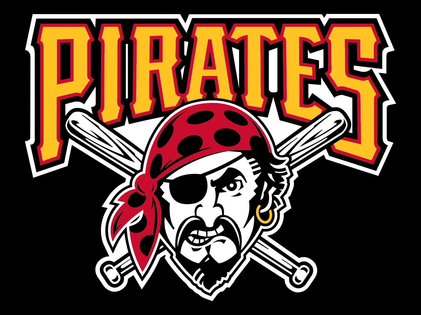 pittsburgh pirates logo wallpaper - wallpapersafari - Pittsburgh Pirates Coloring Pages