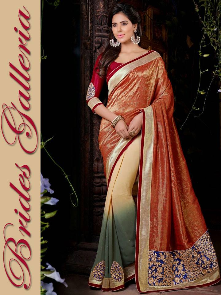 960 in Bollywood Actress Sonam Bajwa With Designer Sarees Images 2015 720x960