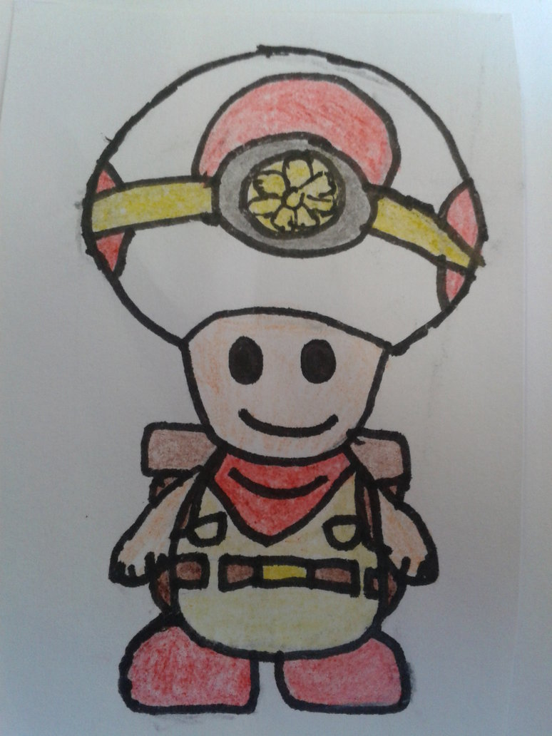 captain toad coloring pages - photo#35