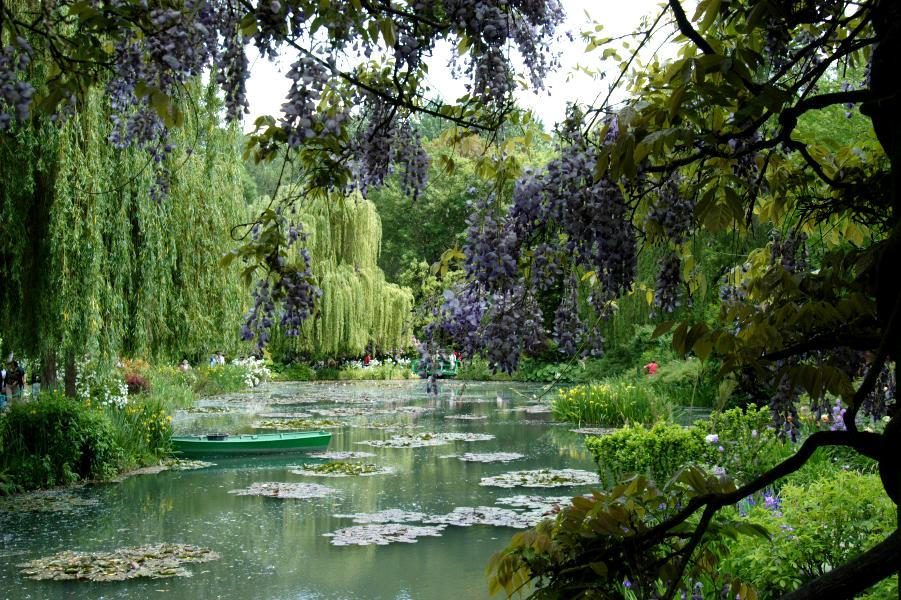 Giverny wallpaper wallpapersafari for Monet s garden france