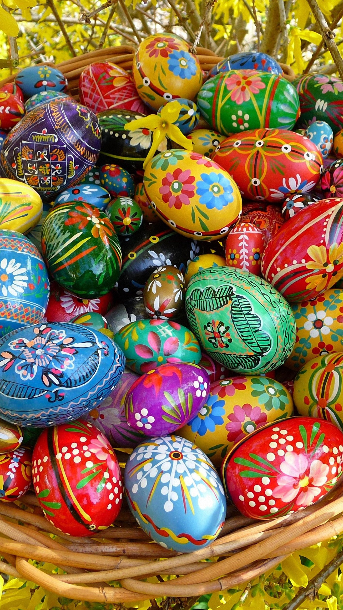 Russian Easter Eggs Galaxy S6 Wallpaper 1440x2560 1440x2560