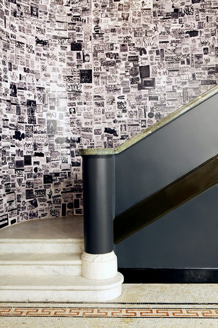 Photo Wallpaper Feature Wall Ideas   Living Room Walls houseandgarden 426x639