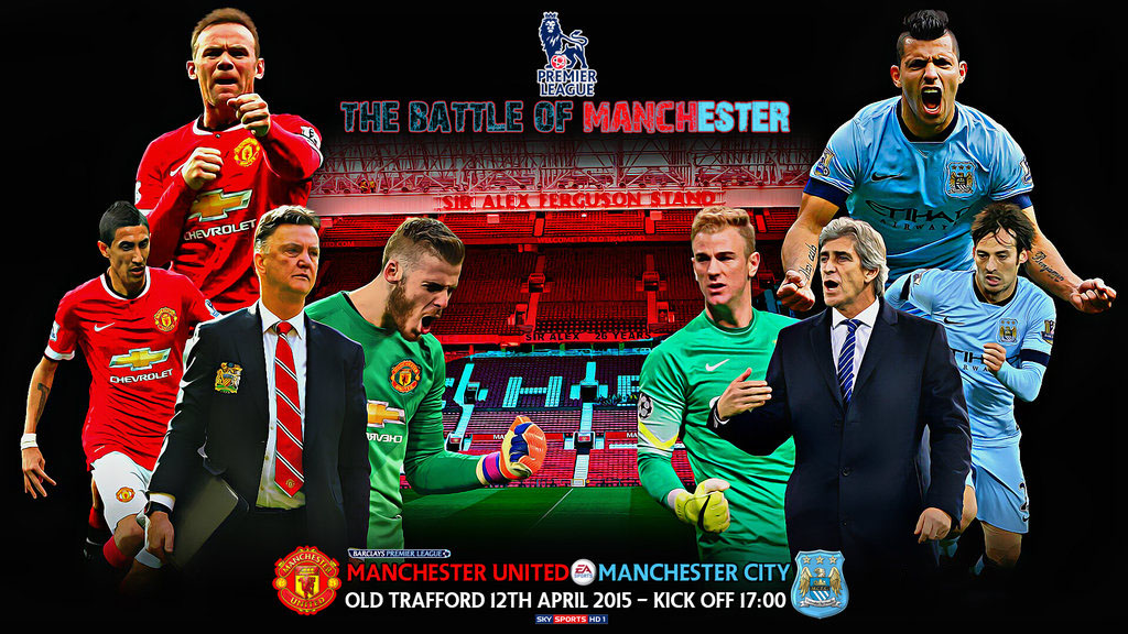 24 Manchester United Vs Manchester City Wallpapers On Wallpapersafari