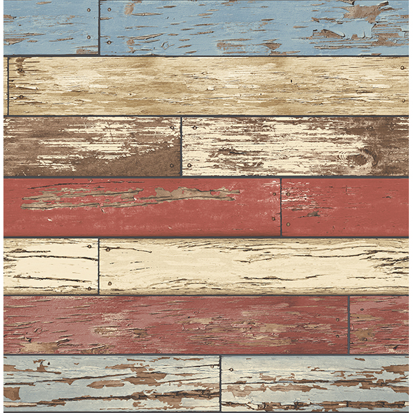 Weathered Texture Red Scrap Wood   Wallpaper by A   Streets Prints 600x600