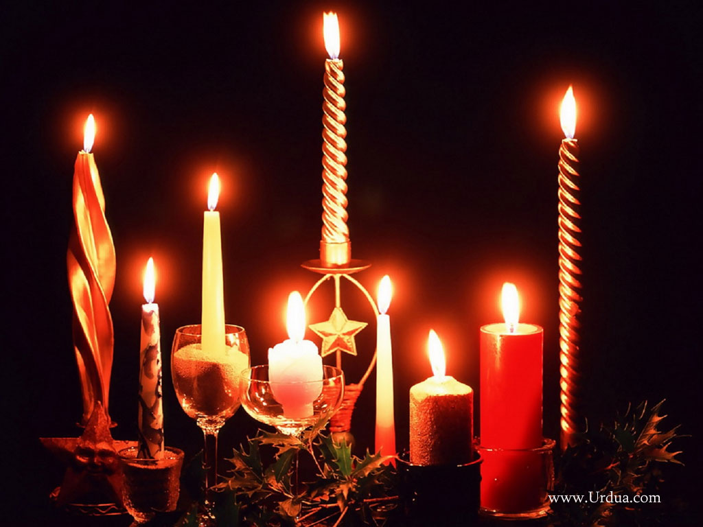 Wallpapers Christmas Candle Wallpapers   Download Christmas Candle 1024x768