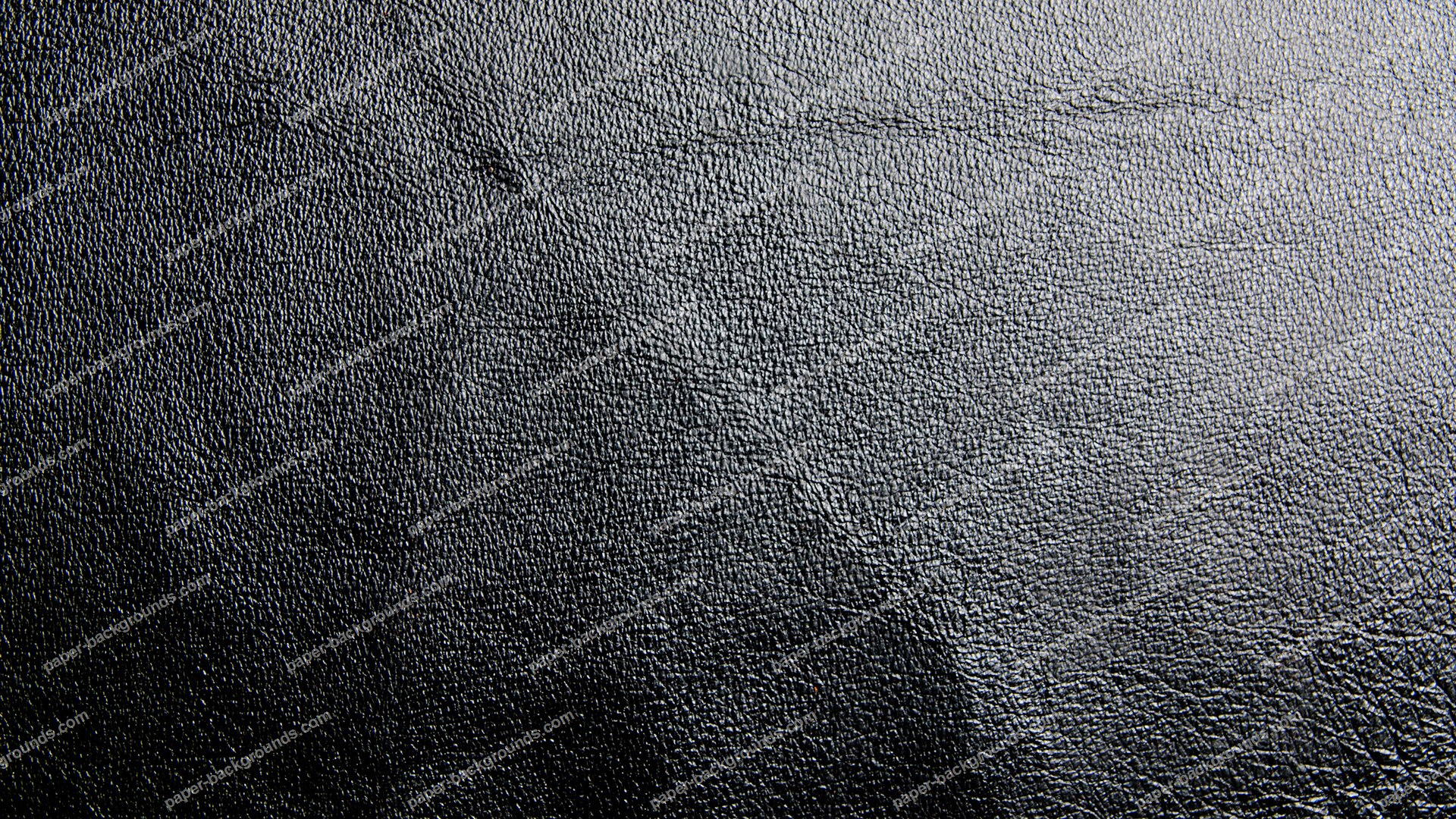 Black Shiny Leather Background Paper Backgrounds 1920x1080