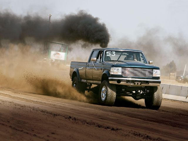 Ford Powerstroke Rollin Coal Wallpaper images 640x480