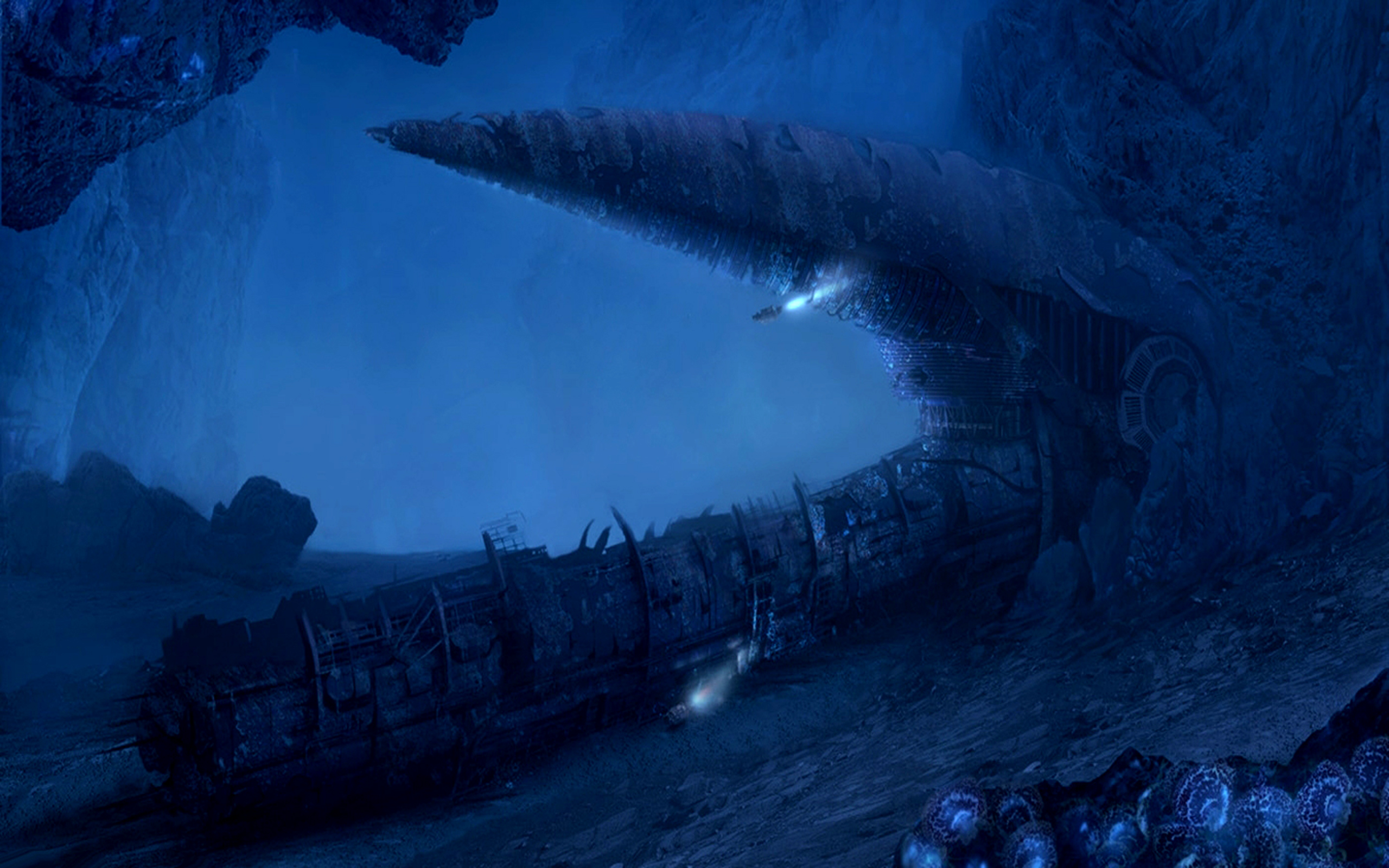 The Deep Seas of Pandora Full HD Wallpaper and Background 2560x1600