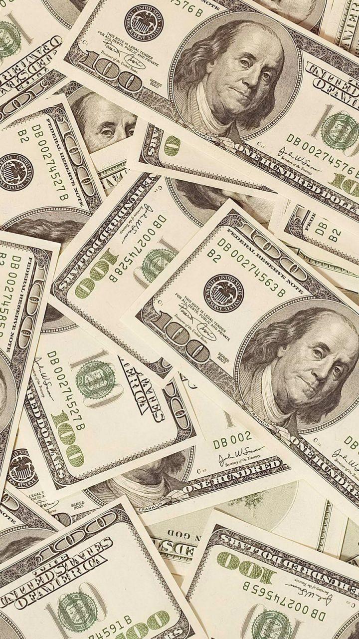 720x1280 Wallpaper money dollars bills background surface My 720x1280