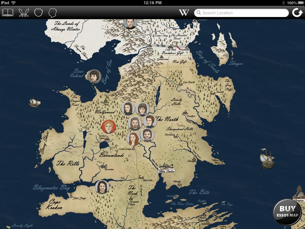 Game of thrones wallpaper map wallpapersafari game of thrones map map of world 1024x768 publicscrutiny Images