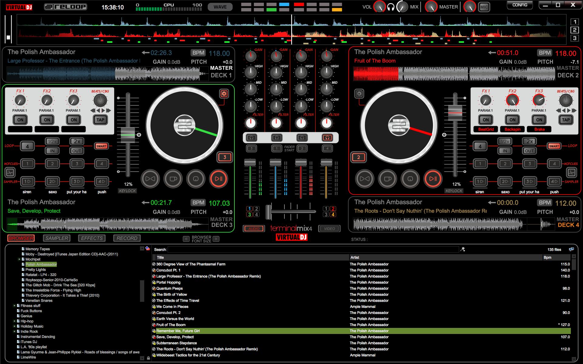 Virtual DJ Wallpaper