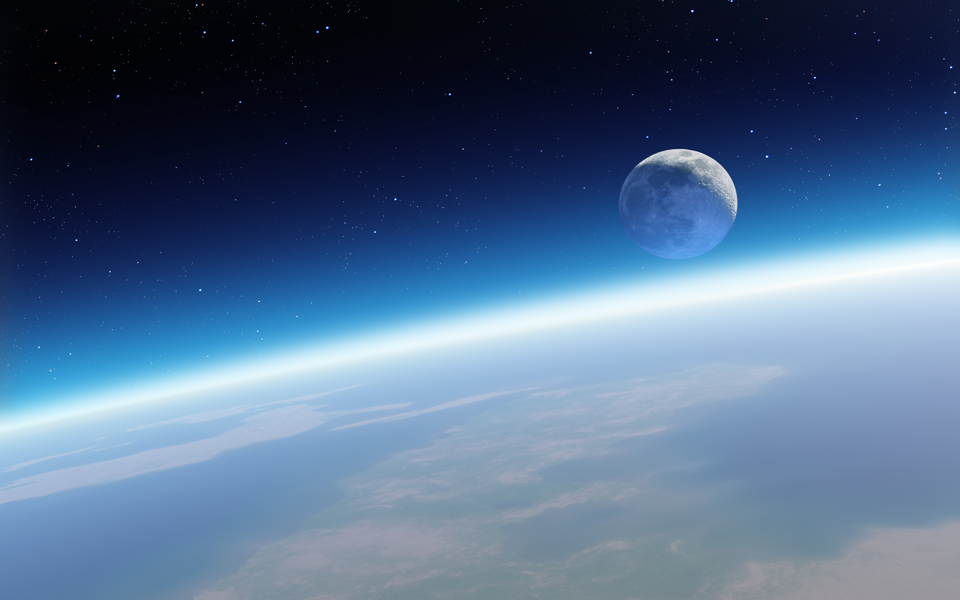earth and moon wallpapers hd wallpapers earth and moon 3200x2000