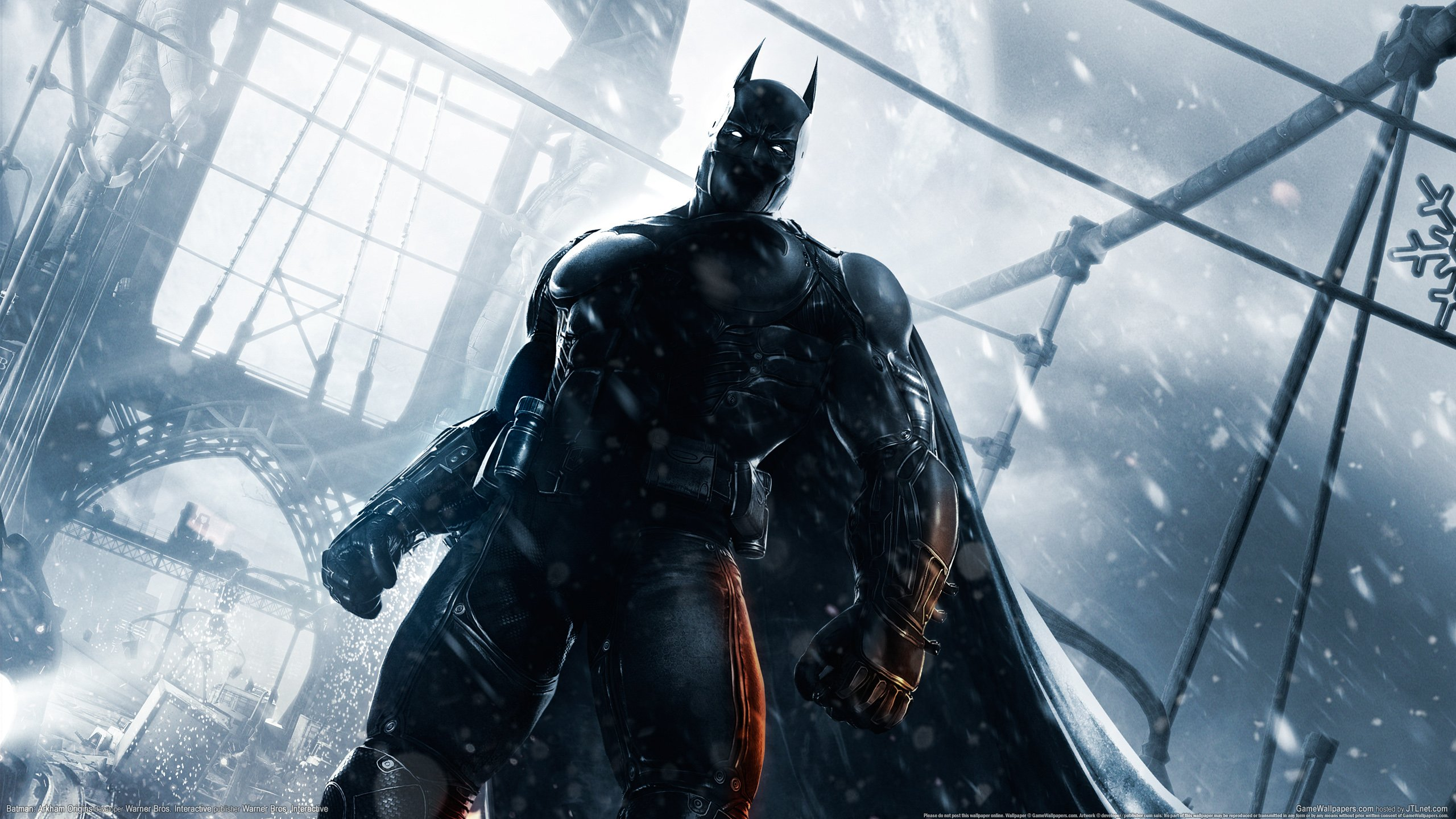 Batman Arkham Origins PC   Games Wallpaper Desktop Hintergrnde 2560x1440