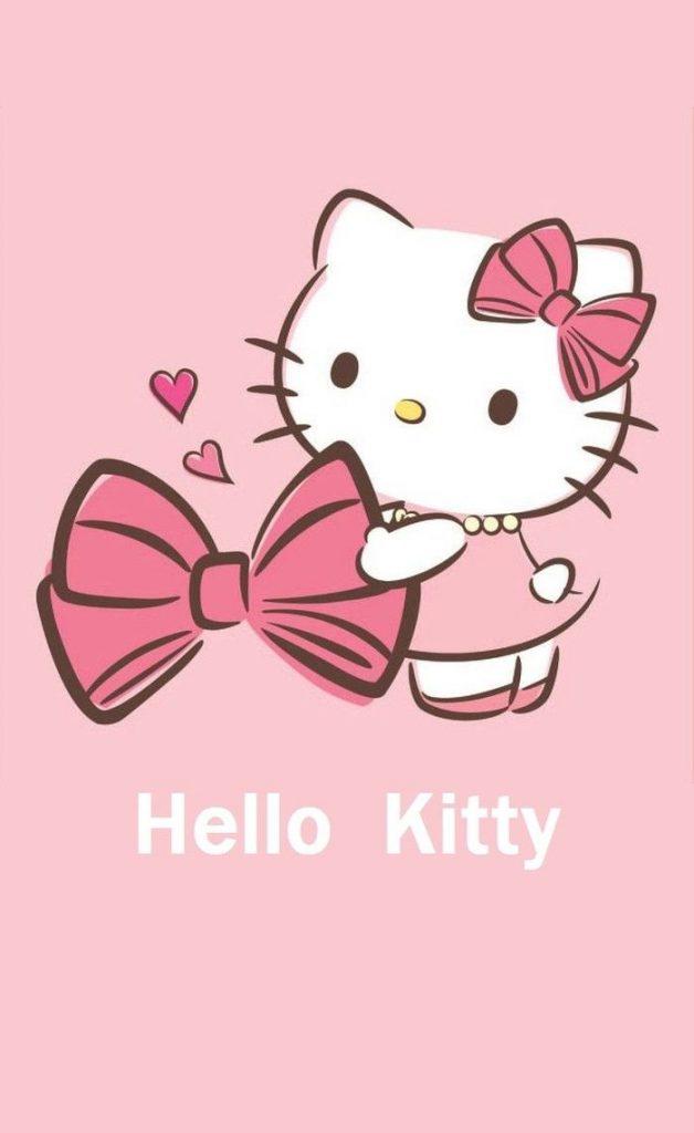 Cute Hello Kitty Wallpaper   Cute Cartoon Pictures Of Hello Kitty 628x1024
