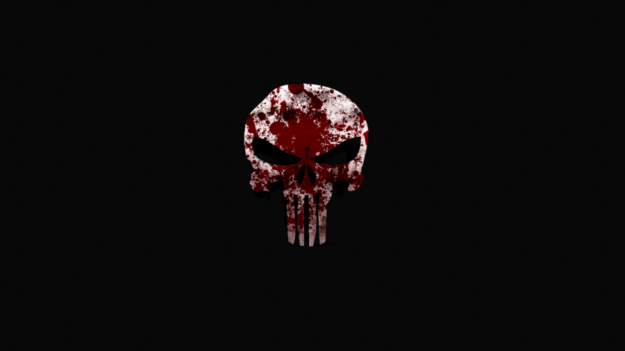 Punisher logo wallpaper | Wallpaper Wide HD
