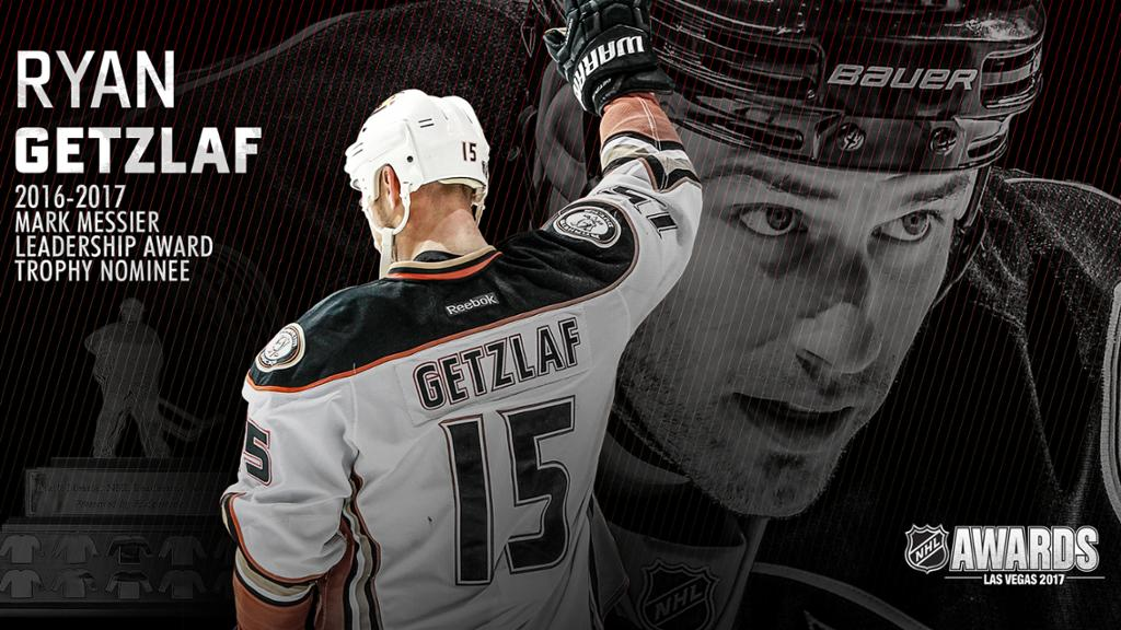 Getzlaf Named Finalist for Mark Messier Leadership Award 1024x576