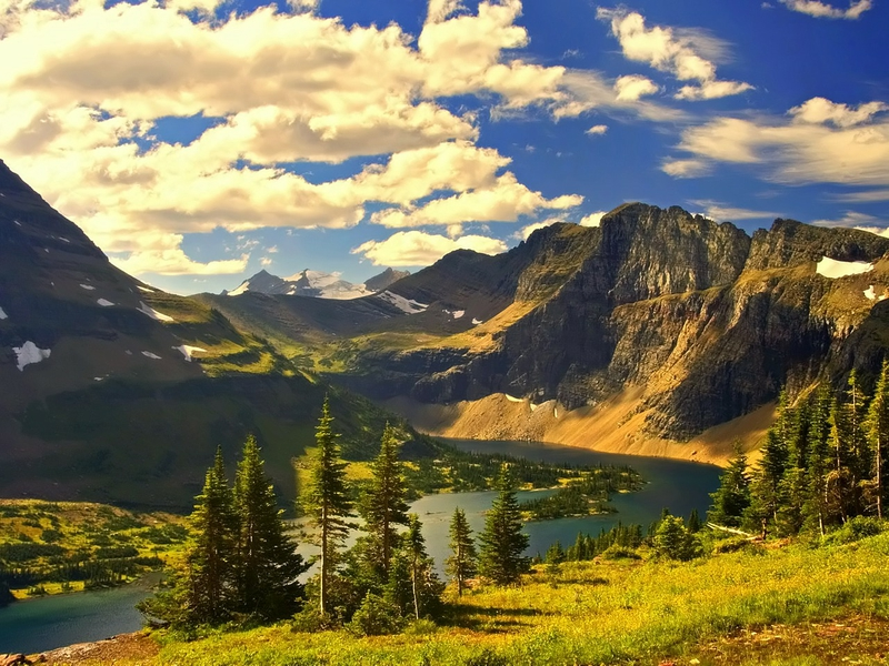 ... beauty Journey through America: Montana Nature Mountains HD Wallpaper