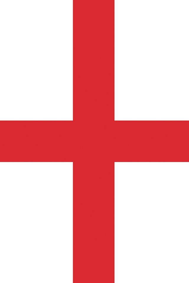 England Flag iPhone Wallpaper HD 640x960