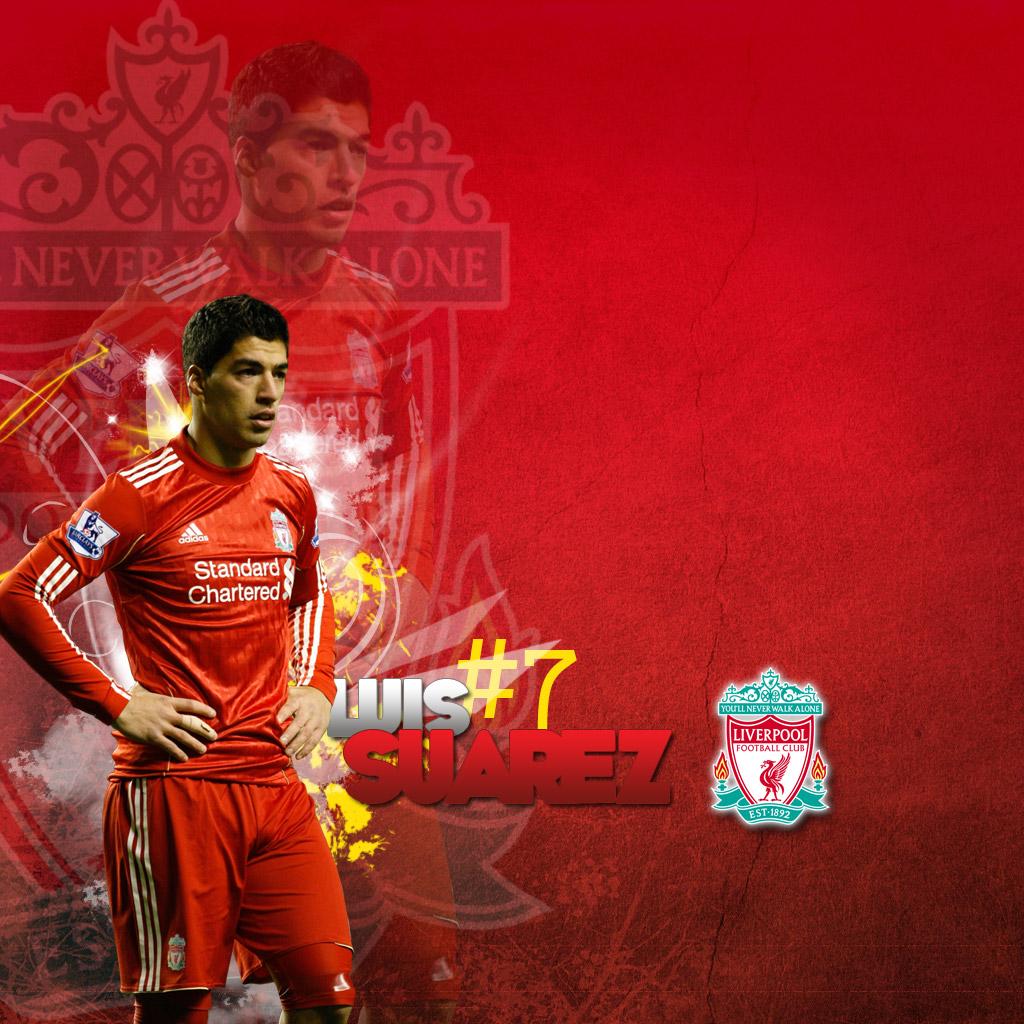 Download Luis Suarez   Liverpool Wallpapers Download Logo Wallpaper 1024x1024