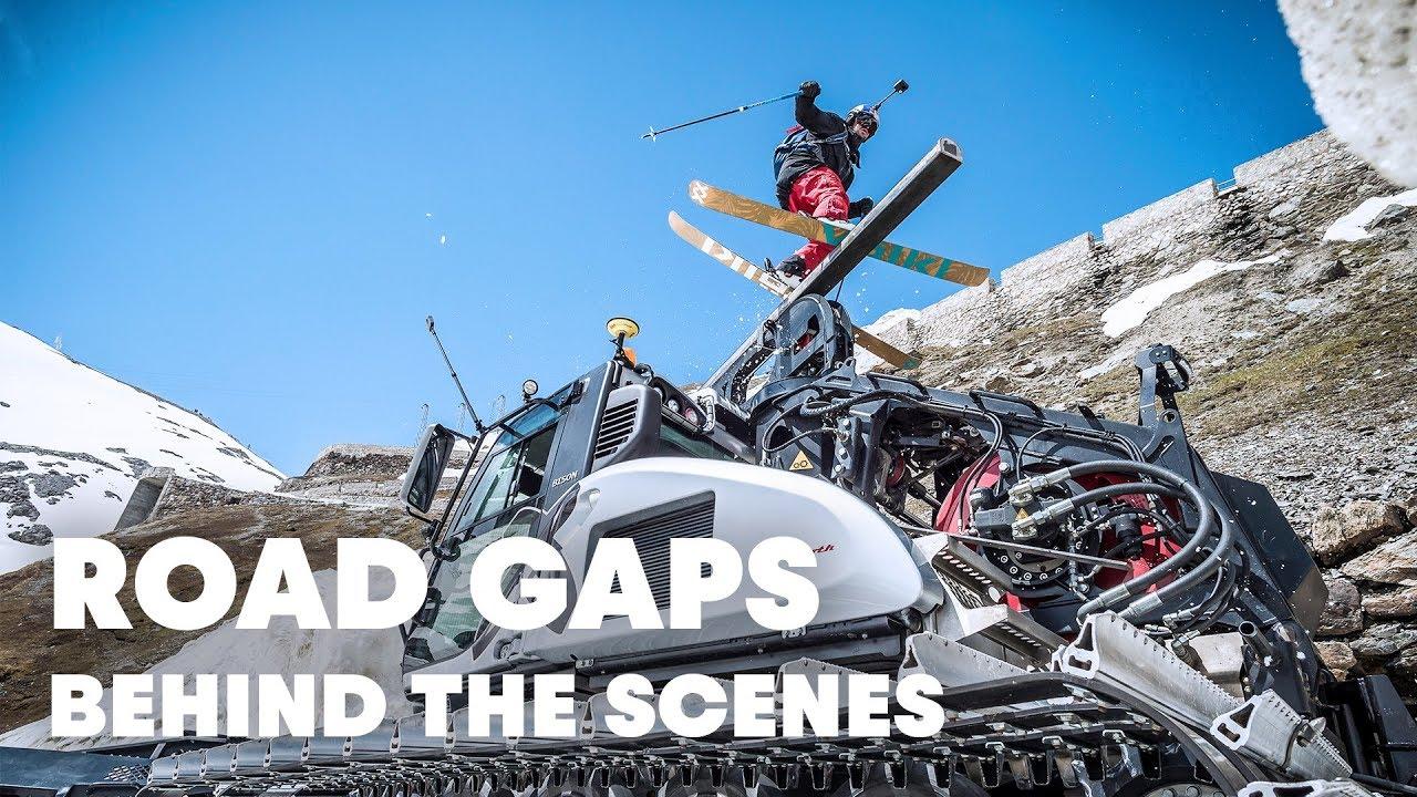 Behind The Scenes Of Freeskiing The Stelvio Pass Road Gaps w 1280x720