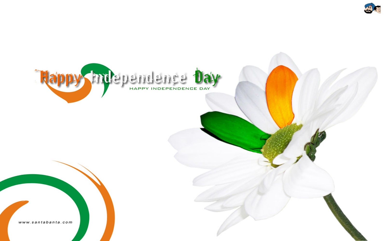 Happy Independence Day Full HD Wallpaper 2012 1600x1000
