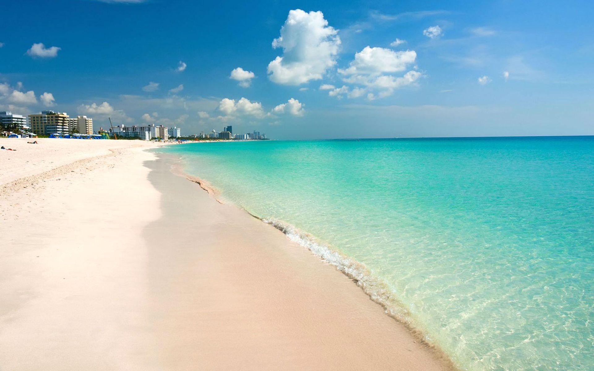 Miami South Beach Florida Desktop Wallpaper Hd 1920x1200 1920x1200