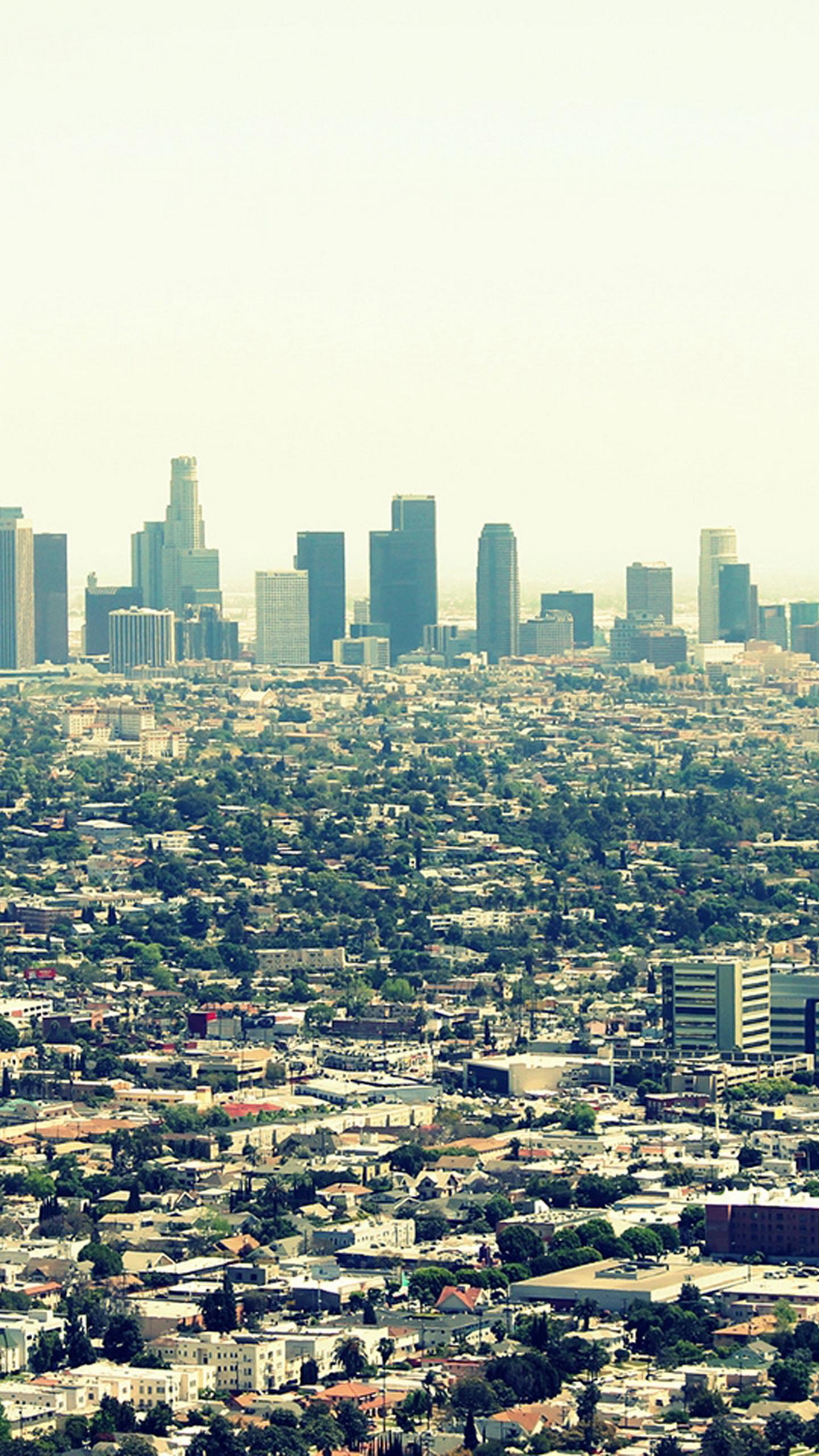 Los Angeles City Wallpaper hd Los Angeles City View Galaxy 1440x2560