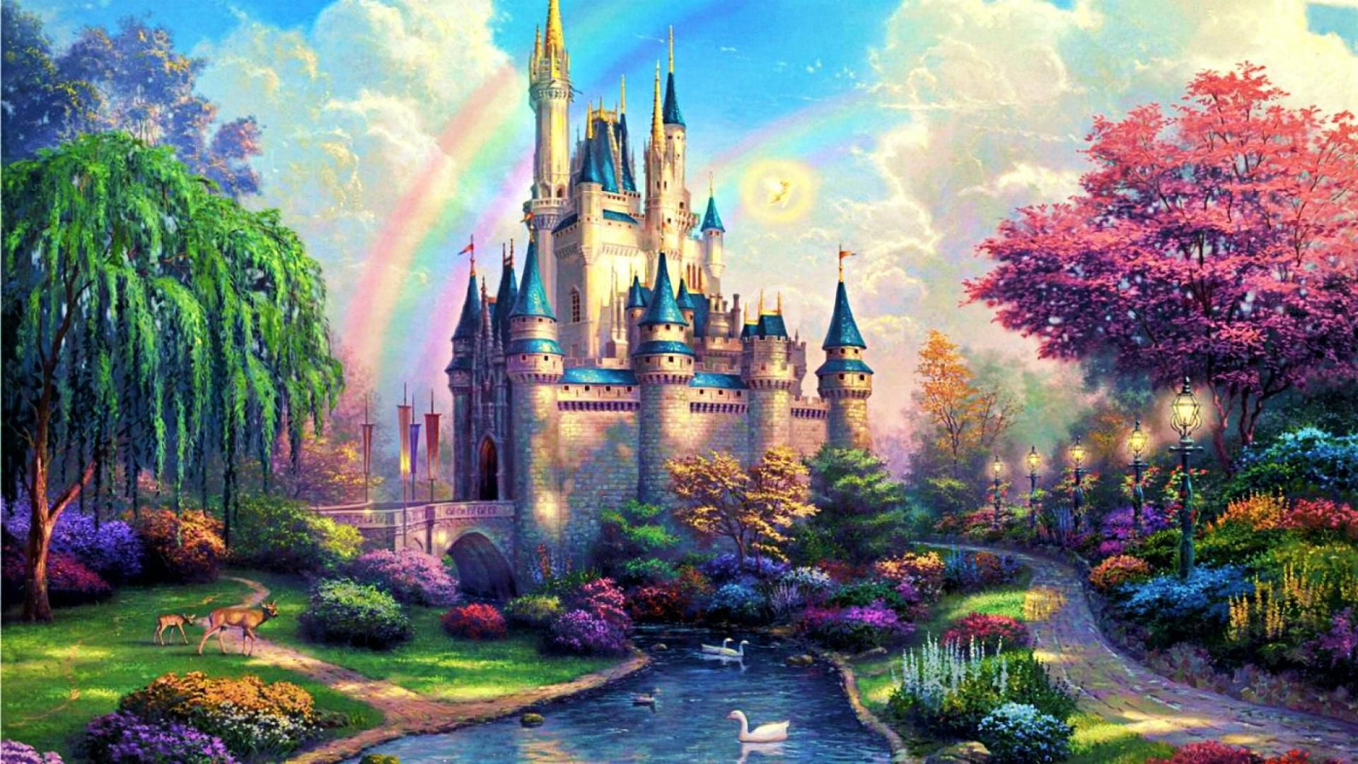 21 Fairy Tales Castles HD wallpapers High Quality Download 1920x1080