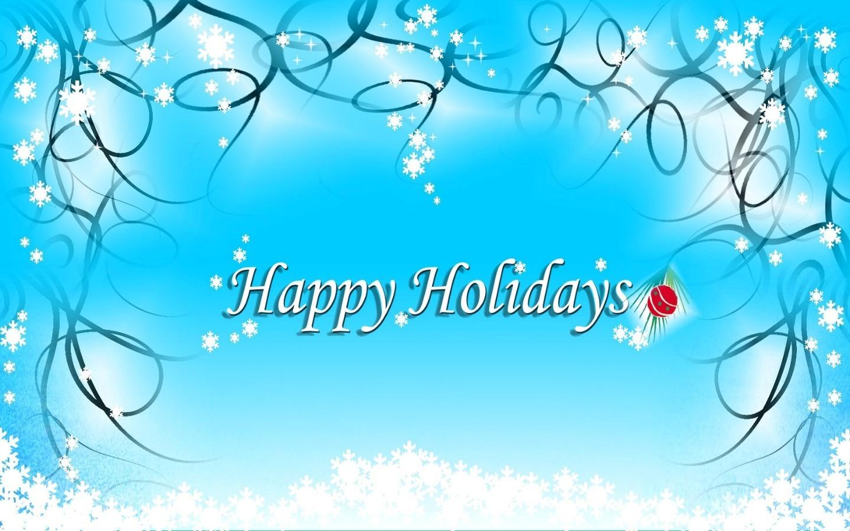 Happy Holidays HD desktop wallpaper High Definition 1440x900 1440x900