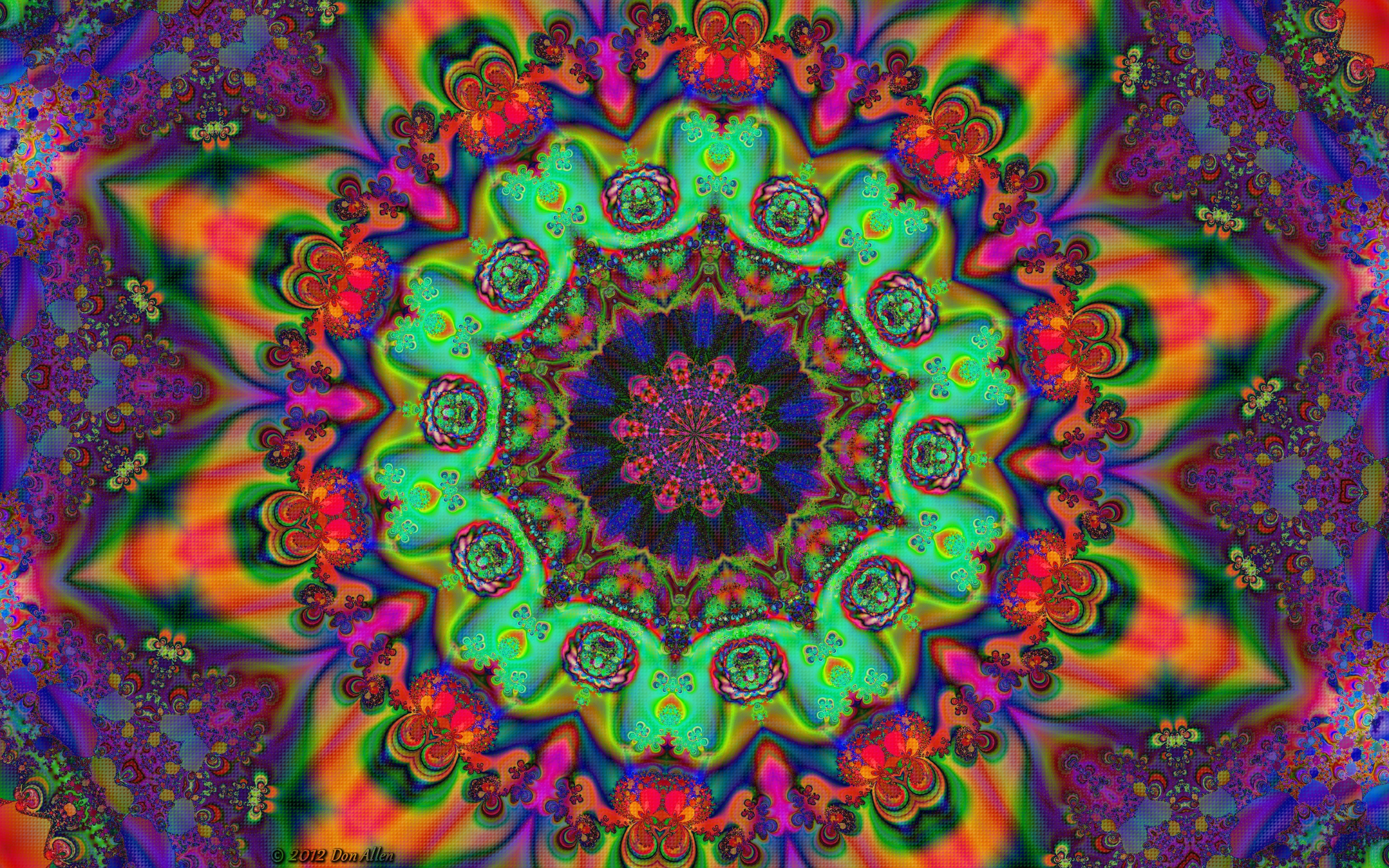 Mandala Mayhem 15 by Don64738 2560x1600