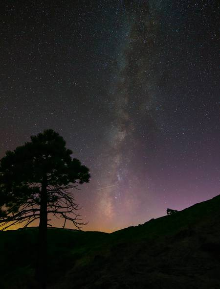 Yosemite Milky Way Wallpaper for Amazon Kindle Fire HD 7 450x590