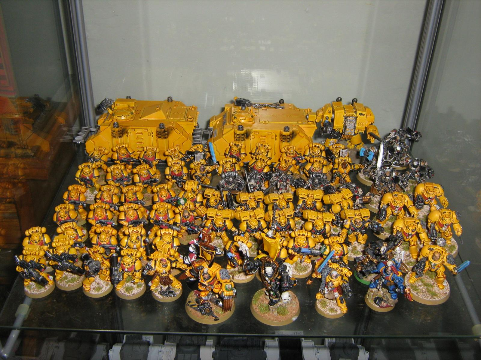 Imperial Fists 5th Company   HALL OF HONOUR   The Bolter and 1600x1200
