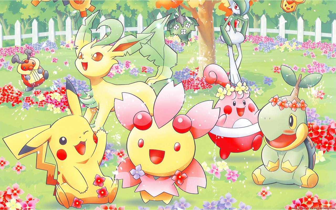[77+] Cute Pokemon Backgrounds on WallpaperSafari