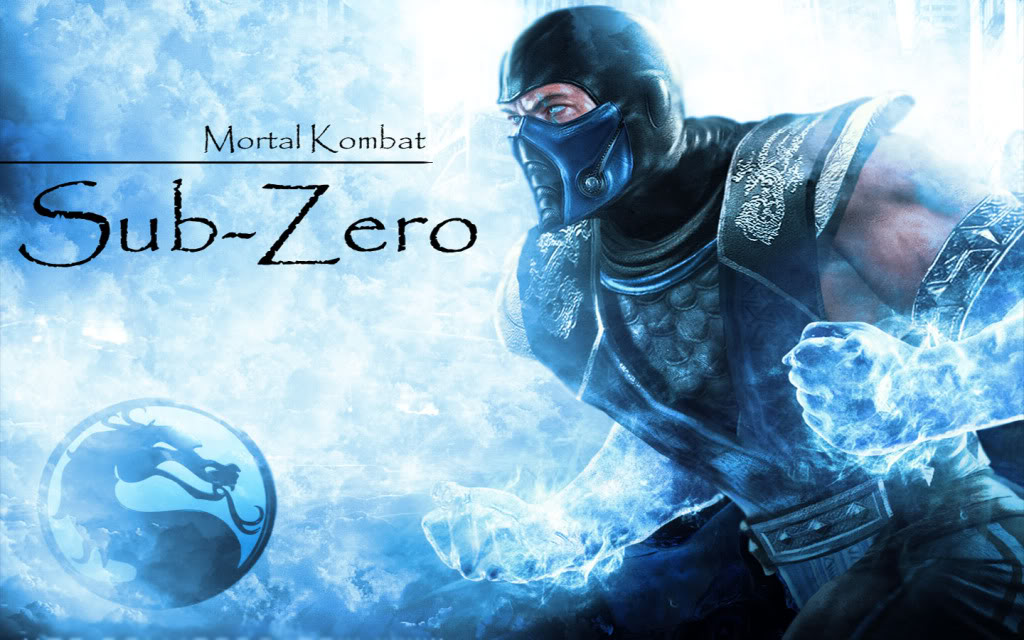 Mortal Kombat Sub Zero Wallpaper 1024x640
