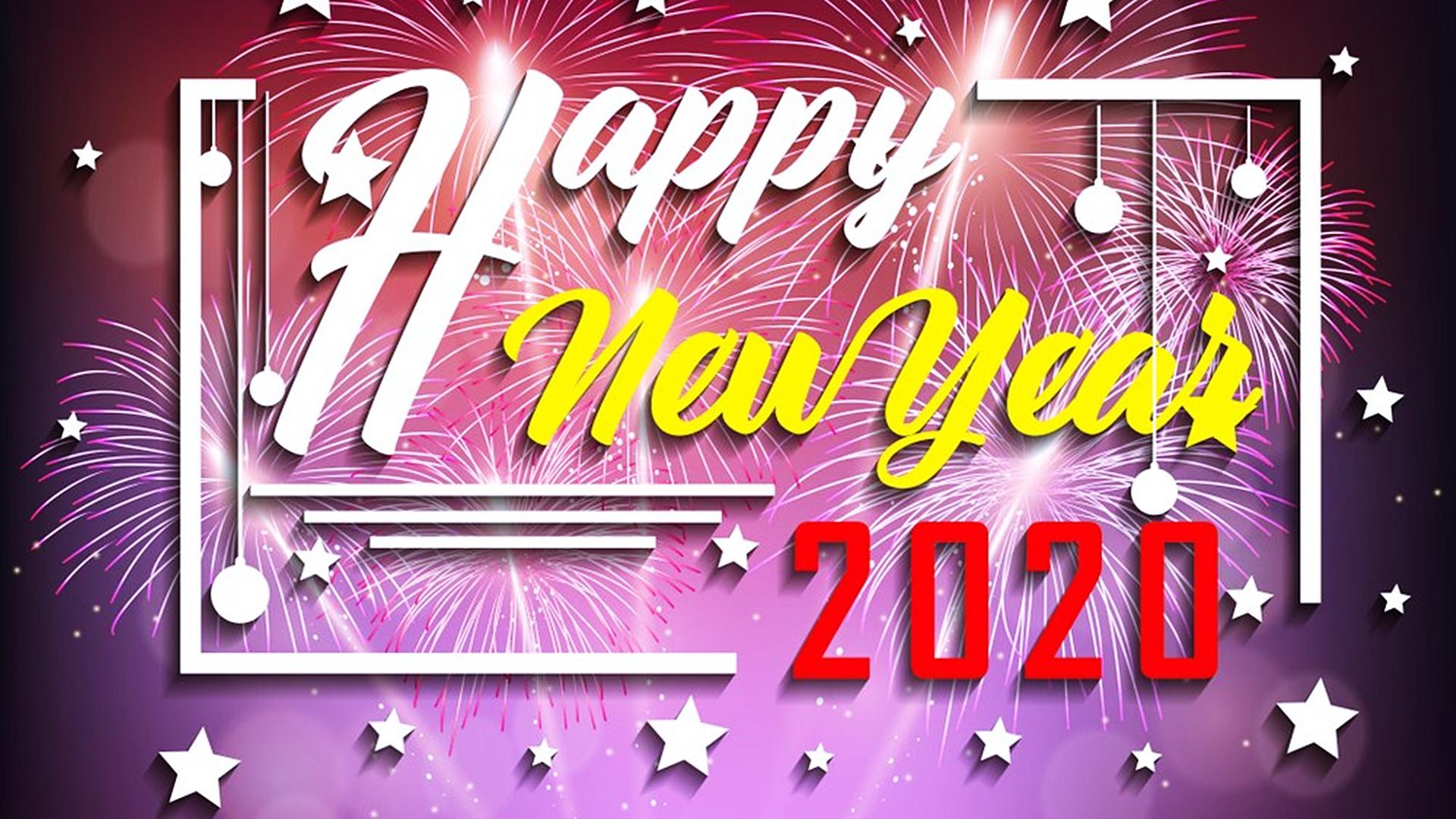 Happy New Year 2020 HD Wallpaper 45550   Baltana 1920x1080