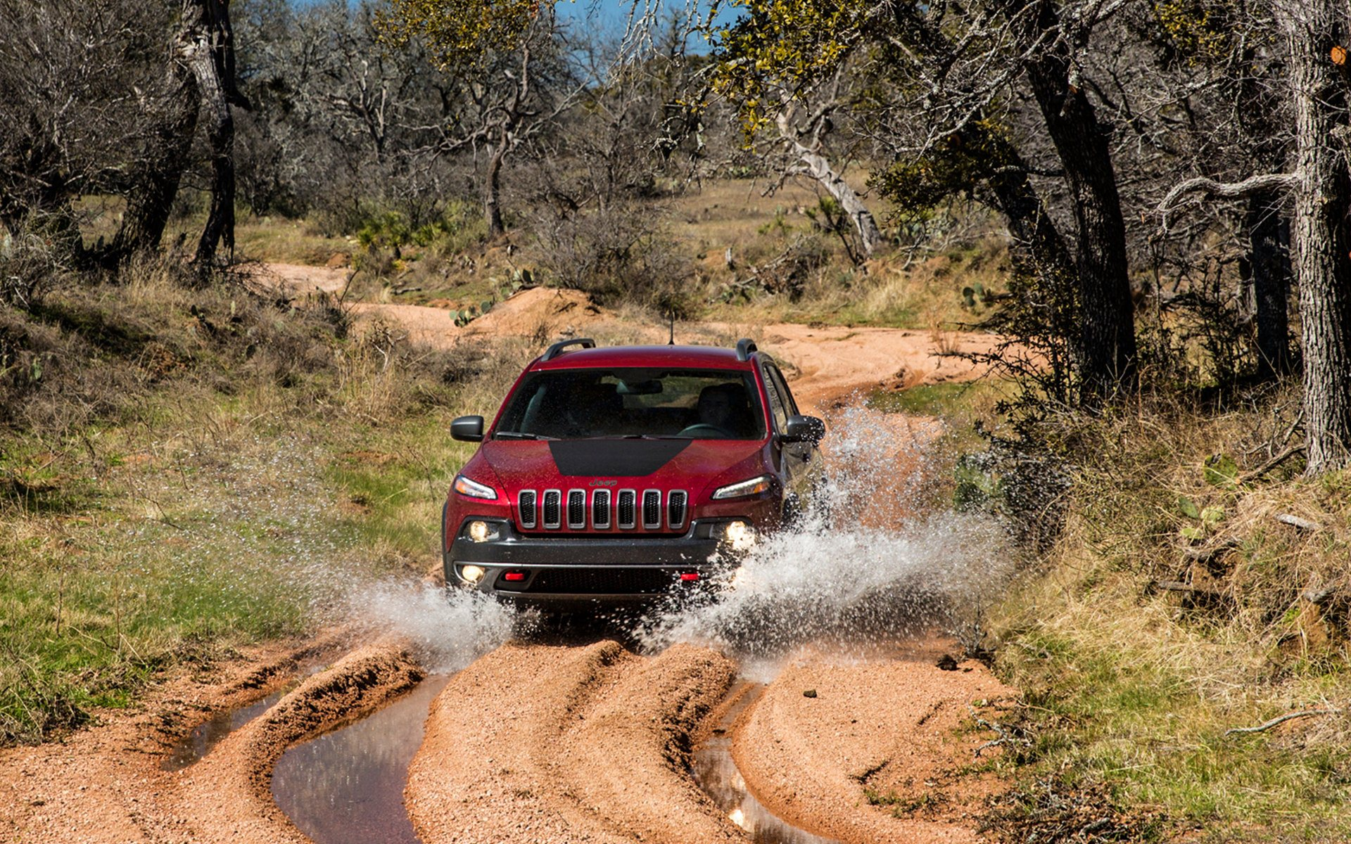 2014 Jeep Cherokee Off Road Widescreen HD Wallpaper 1920x1200