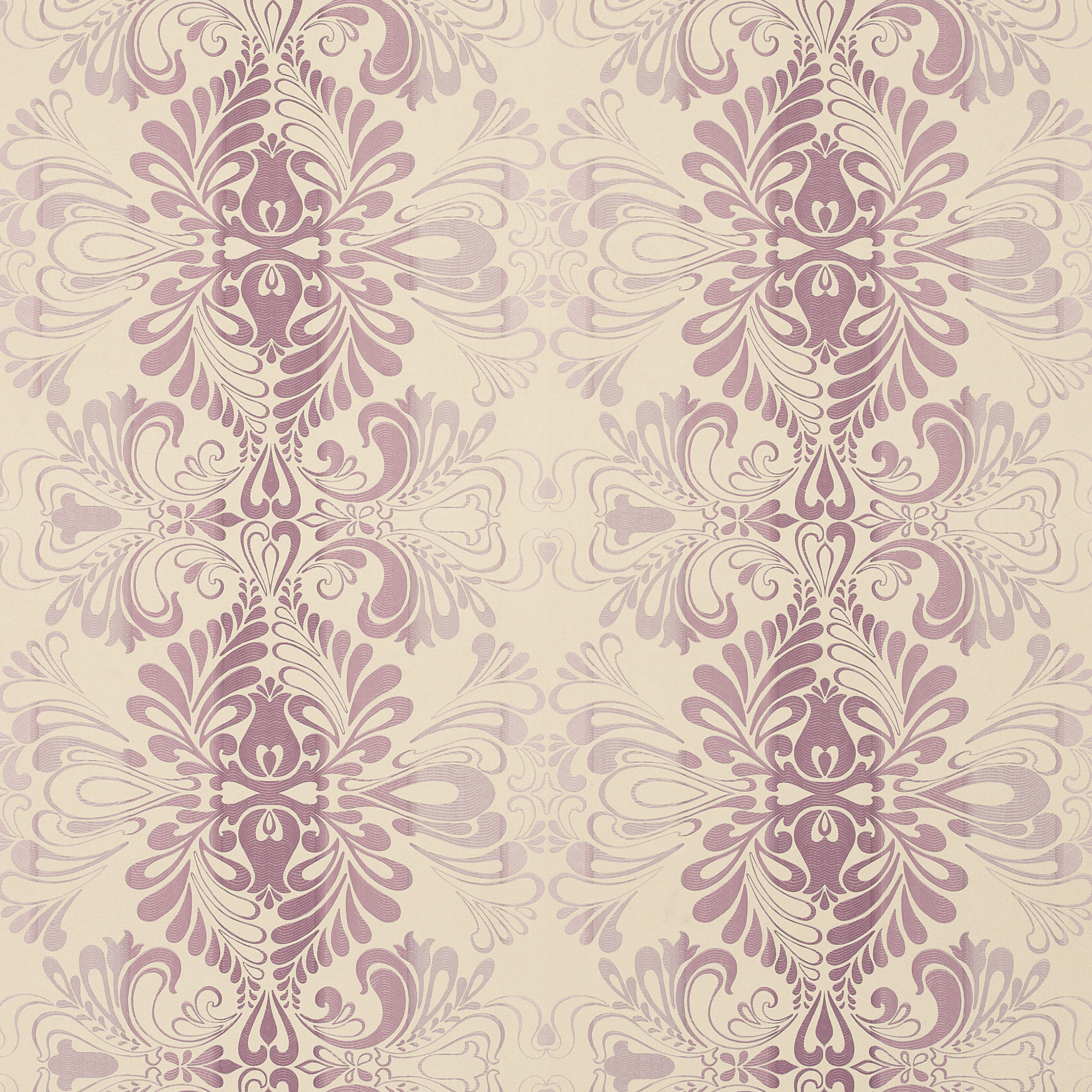 Fitzroy Amethyst Damask Wallpaper 2500x2500