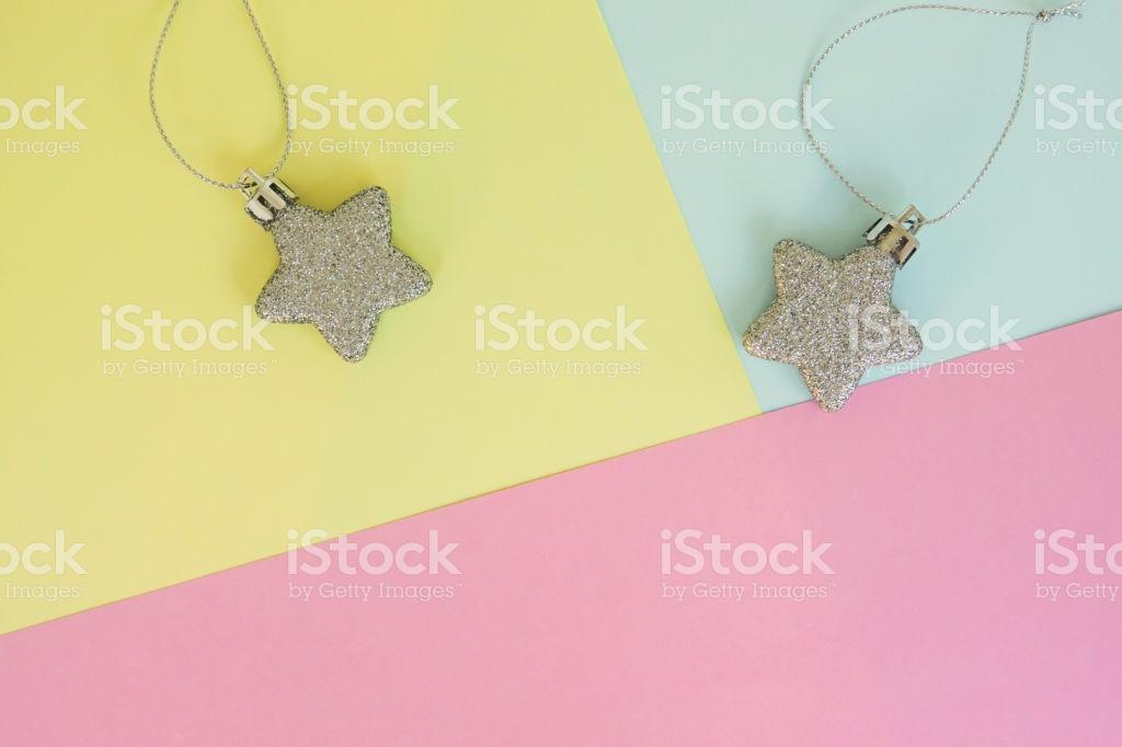Cute Background Of Glitter Star On Pastel Sheet For Season 1024x682