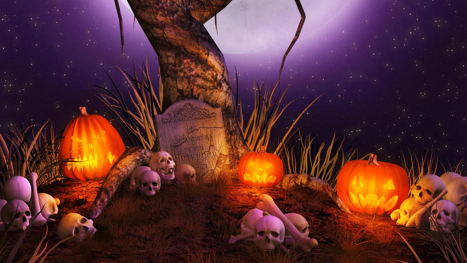 1920x1080 HD Halloween Wallpaper - WallpaperSafari