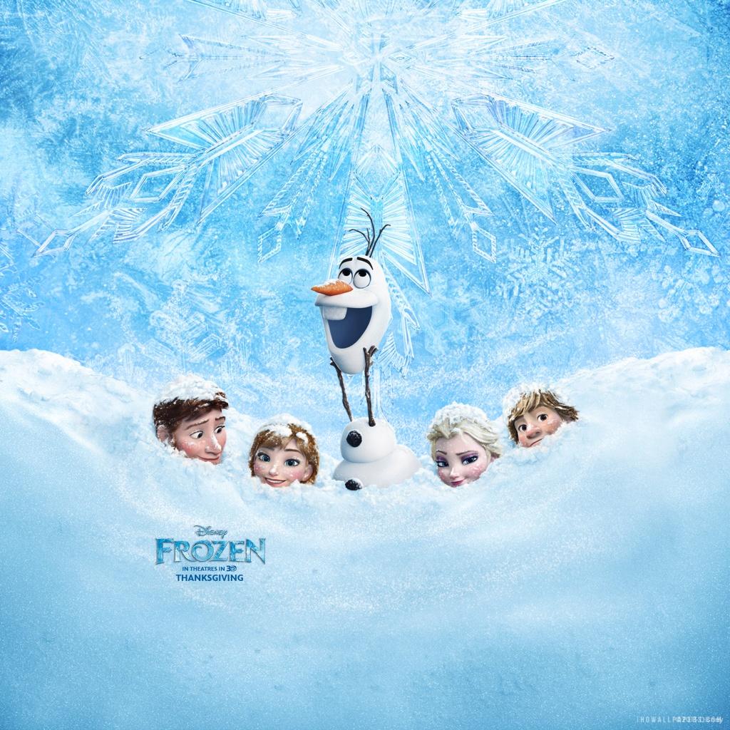 Disney Frozen HD Wallpaper   iHD Wallpapers 1024x1024
