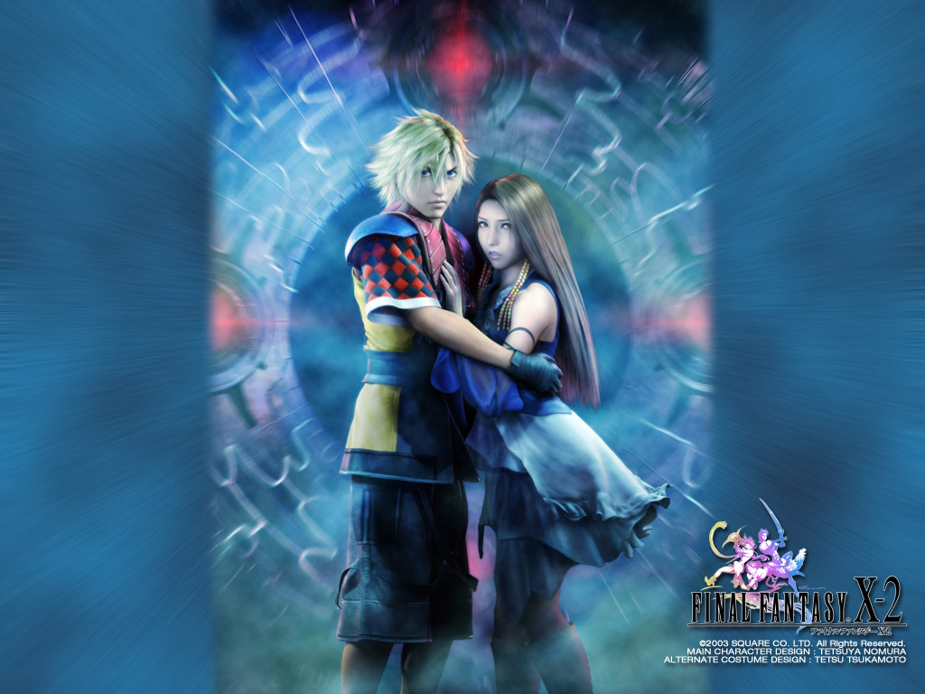 Final Fantasy X 2 FFX 2 FF10 2   Wallpapers 1024x768