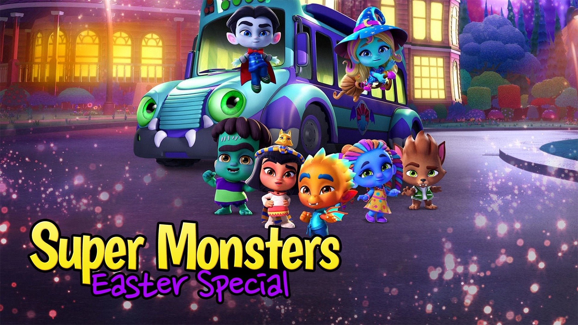 Super Monsters Easter Special 1920x1080
