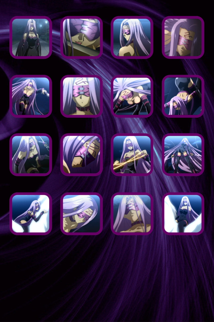 Fate Stay Night   Rider Ipod Wallpaper by QuarianDerpy on deviantART 729x1096