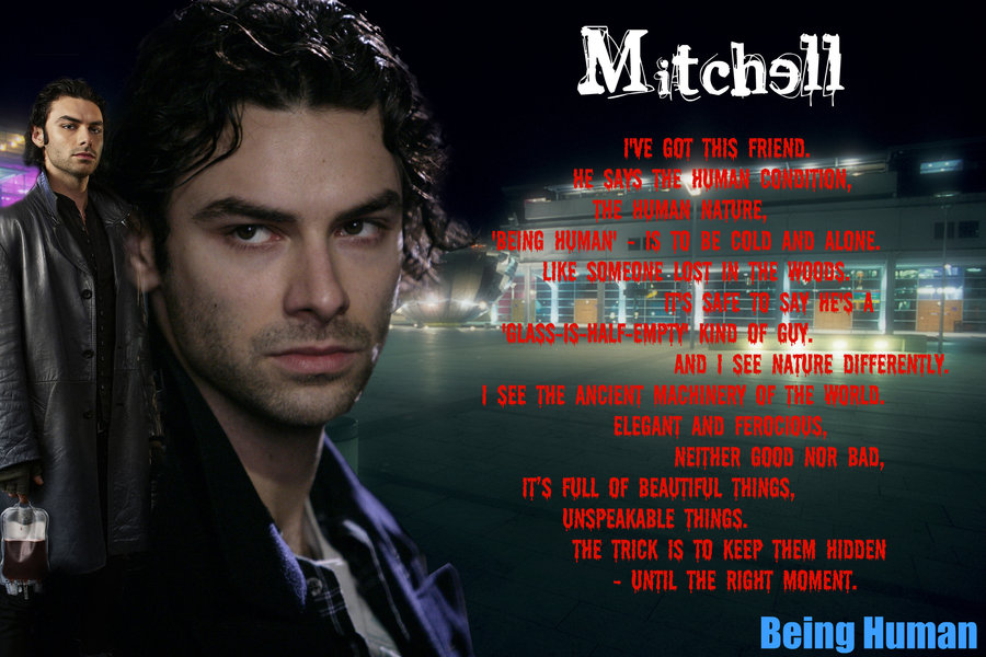 Download Mitchell Being Human By Melciah1791 900x600 96 Being