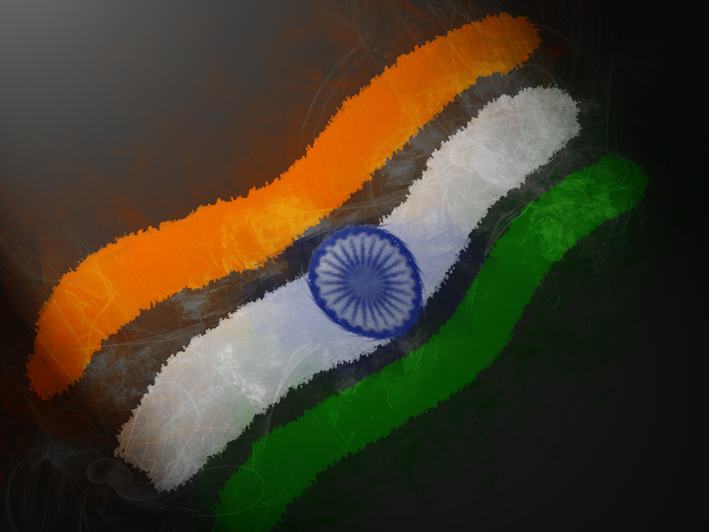 India flag art wallpaper High Quality WallpapersWallpaper Desktop 1024x768