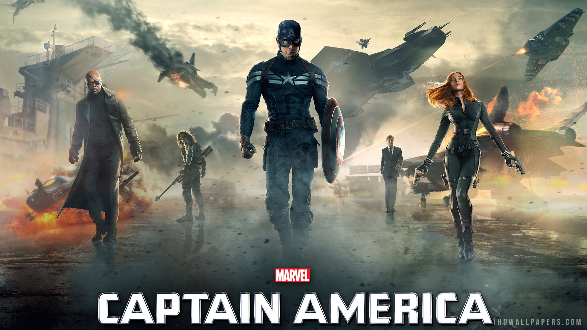America The Winter Soldier Movie 2014 HD Wallpaper   iHD Wallpapers 1920x1080